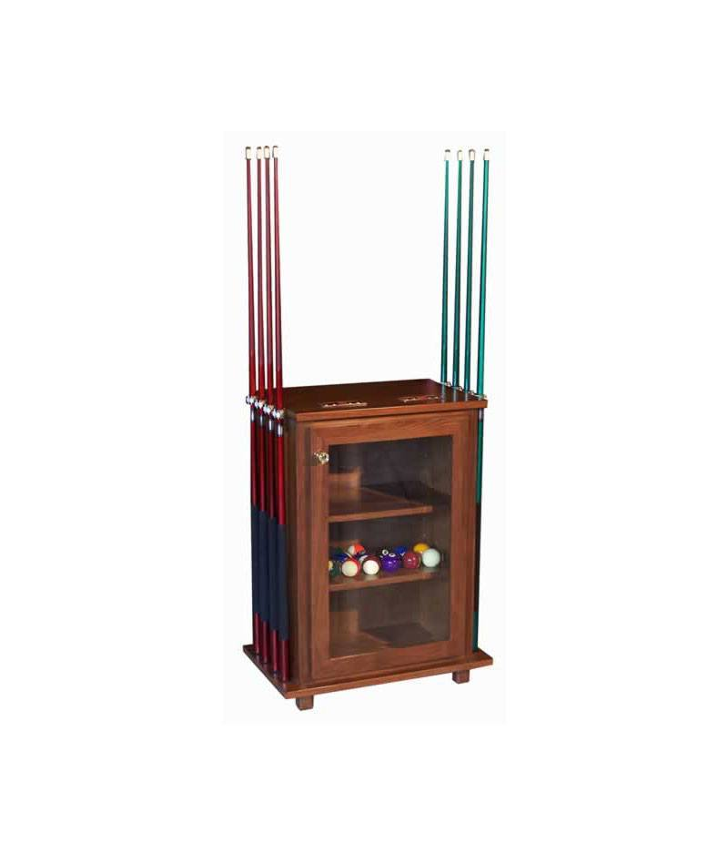 Deluxe Pool Table Accessories Cabinet