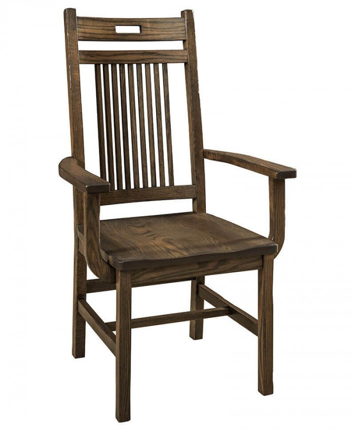 Amish BayHill Dining Arm Chair