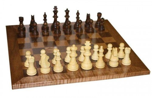 Chess Board and Game Pieces