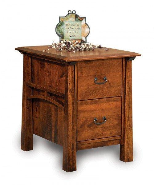 Artesa Filing Cabinet with Finished Back