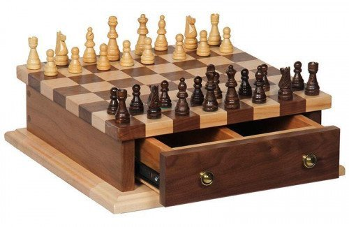 Chess and Checkerboard Set