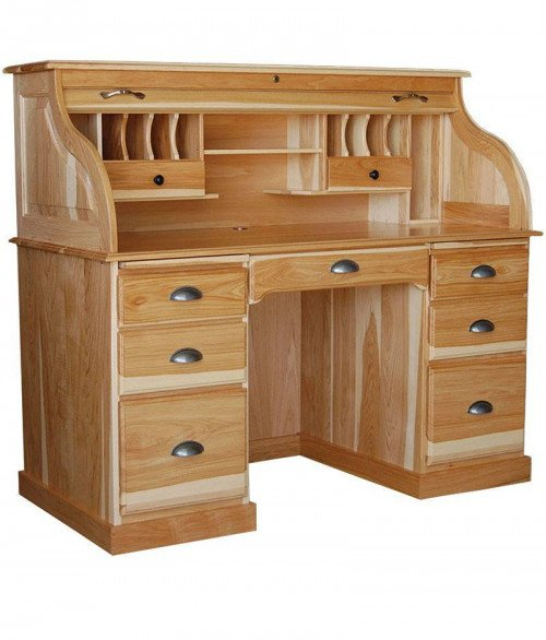 Double Pedestal Rolltop Desk (56)