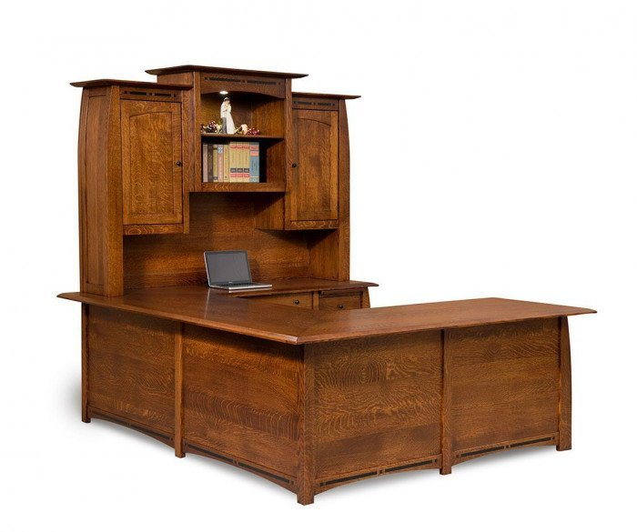 Boulder Creek 4-Piece Desk