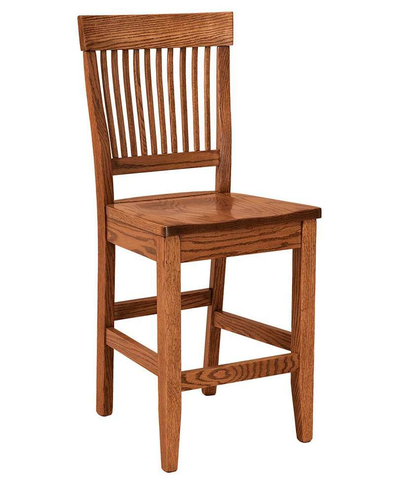 Jefferson Bar Stool Amish Bar Stools Deutsch Furniture