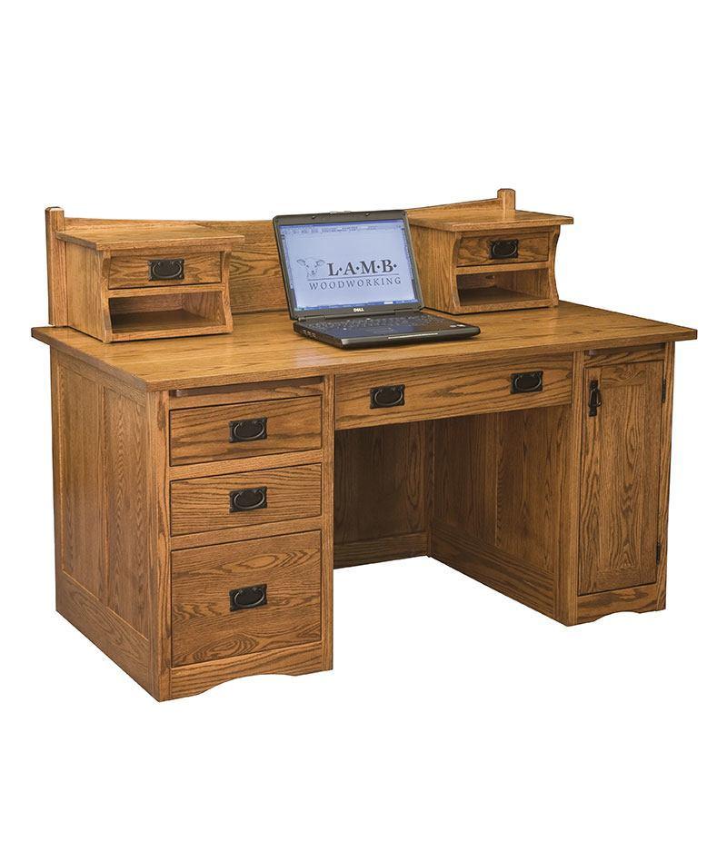 Mission Computer Desk 001 Deutsch Furniture Haus