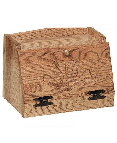 Oak Bread Box Wheat
