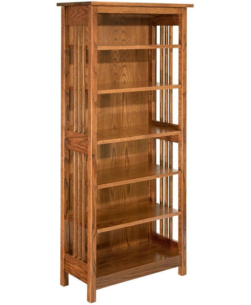Open Mission Bookcase