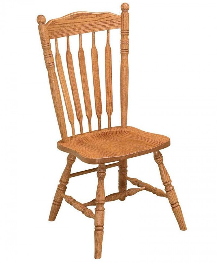Post Paddle Dining Chair