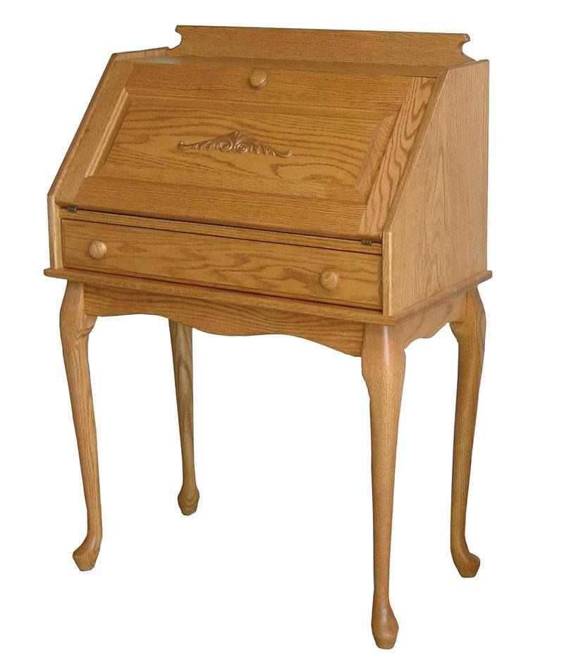 Queen Anne Fold Down Secretary Desk