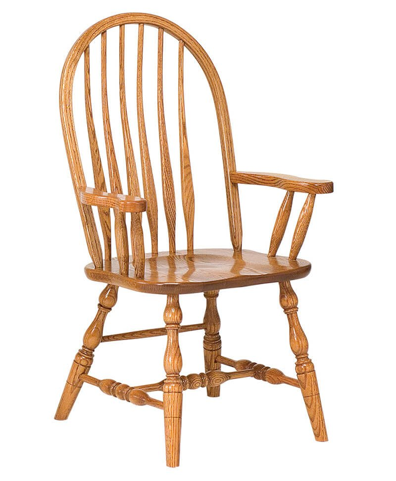 Bent Feather Bow Dining Chair