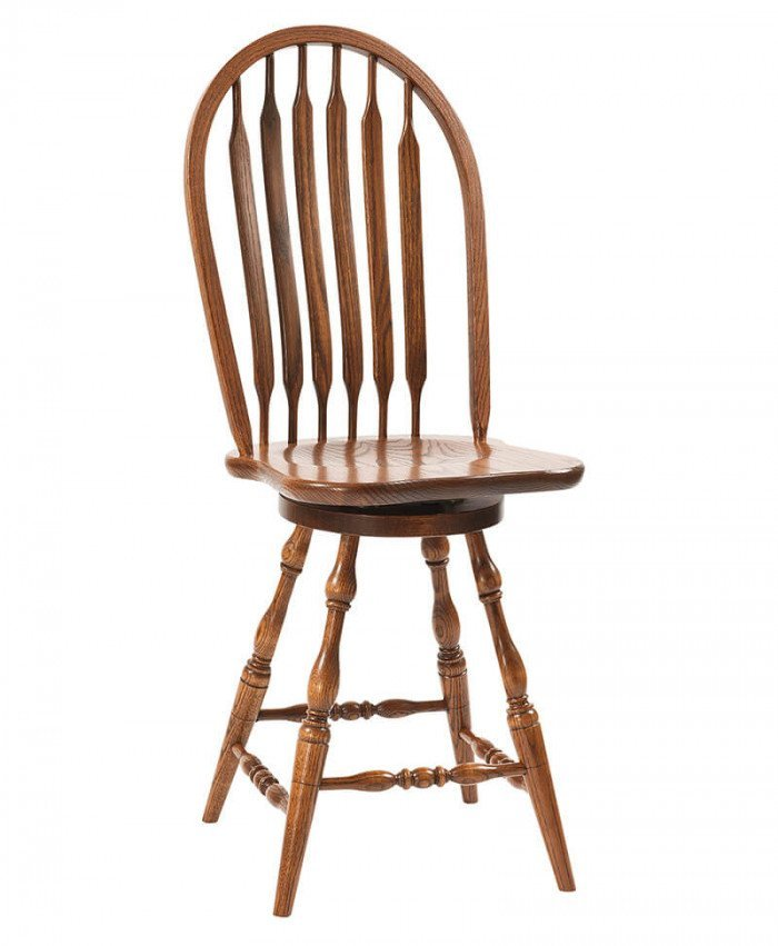Bent Paddle Bar Stool