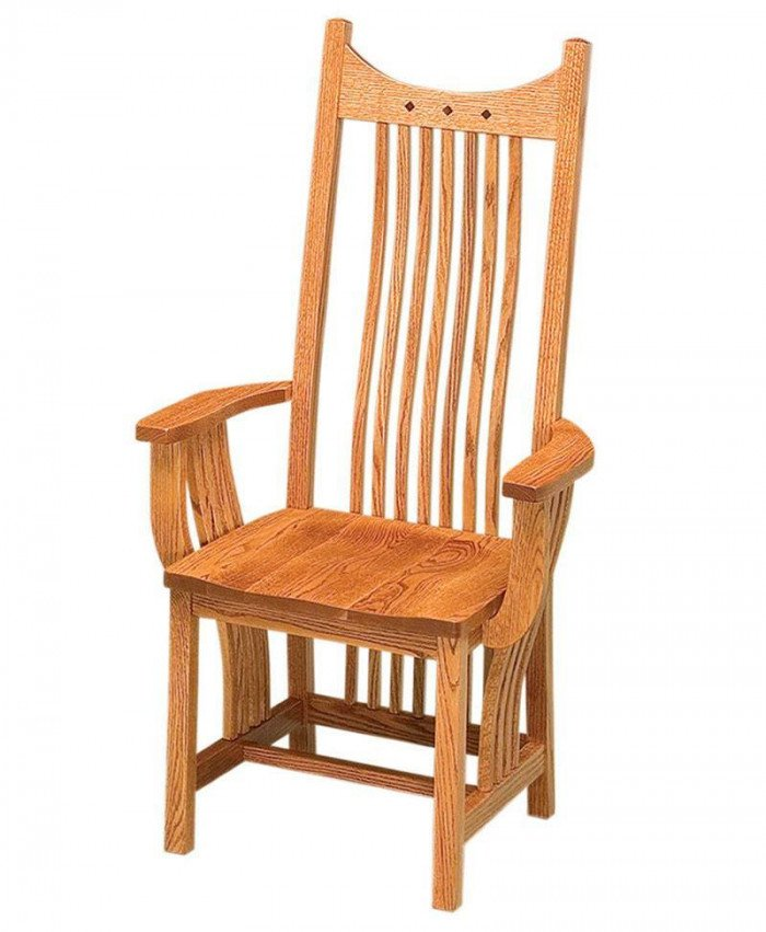 Royal Mission Arm Chair