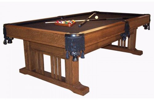 Signature Mission Pool Table