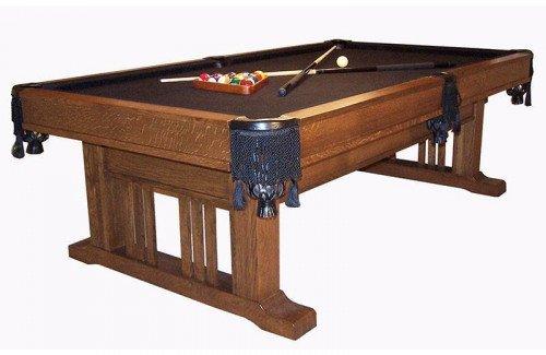 Signature Mission Pool Table