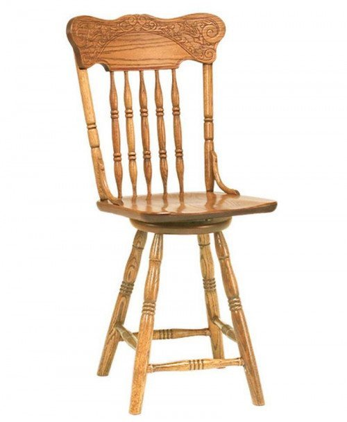 Spring Meadow Pressback Bar Stool