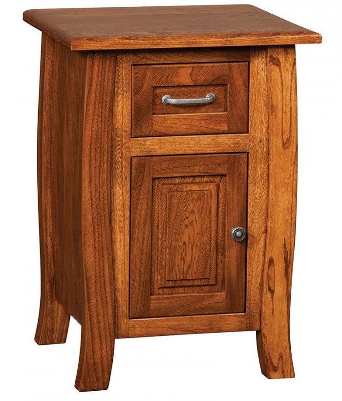 Batavia 1 Drawer 1 Door Night Stand