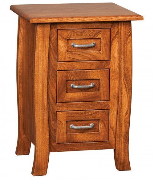 Batavia 3 Drawer Night Stand