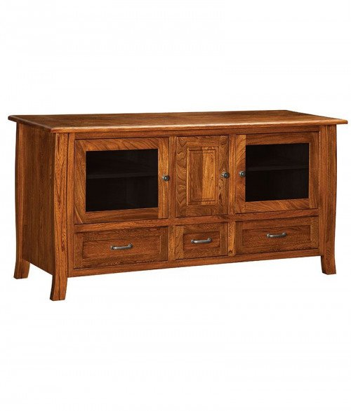 Batavia Plasma TV Stand 3 Drawer 3 Door