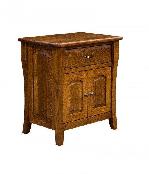 Berkley 1 Drawer 2 Door Night Stand