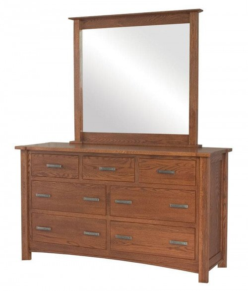 Brooklyn Mission 7 Drawer Dresser