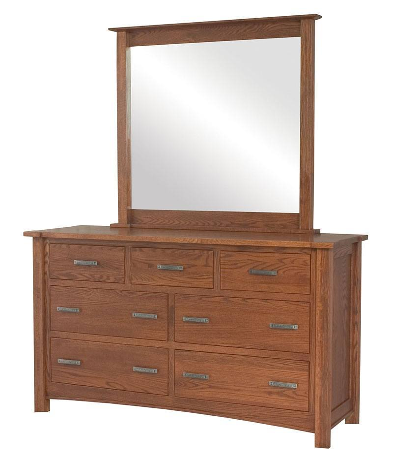 Brooklyn Mission 7 Drawer Dresser