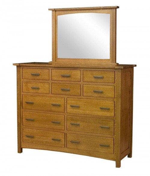 Brooklyn Mission 12 Drawer Dresser