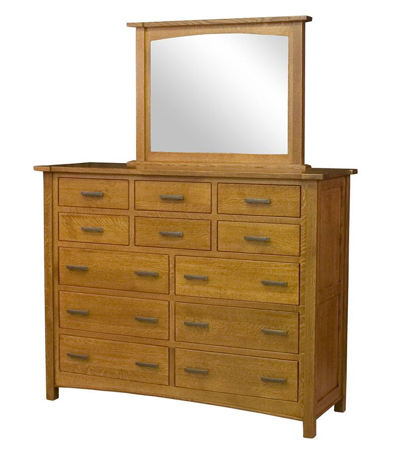 Brooklyn Mission 12 Drawer Dresser