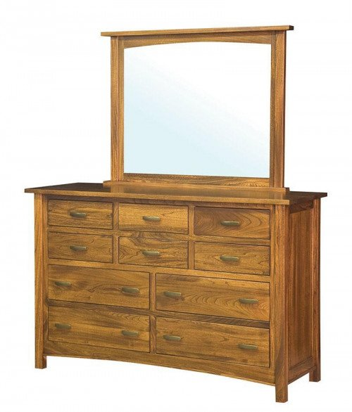 Brooklyn Mission 10 Drawer Dresser