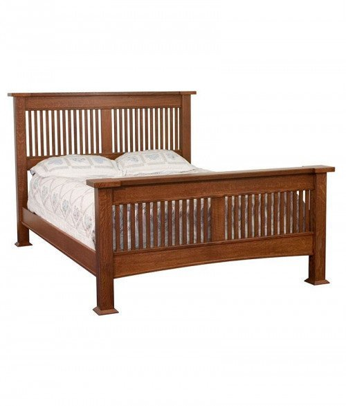 Brooklyn Mission Solid Post Stick Bed