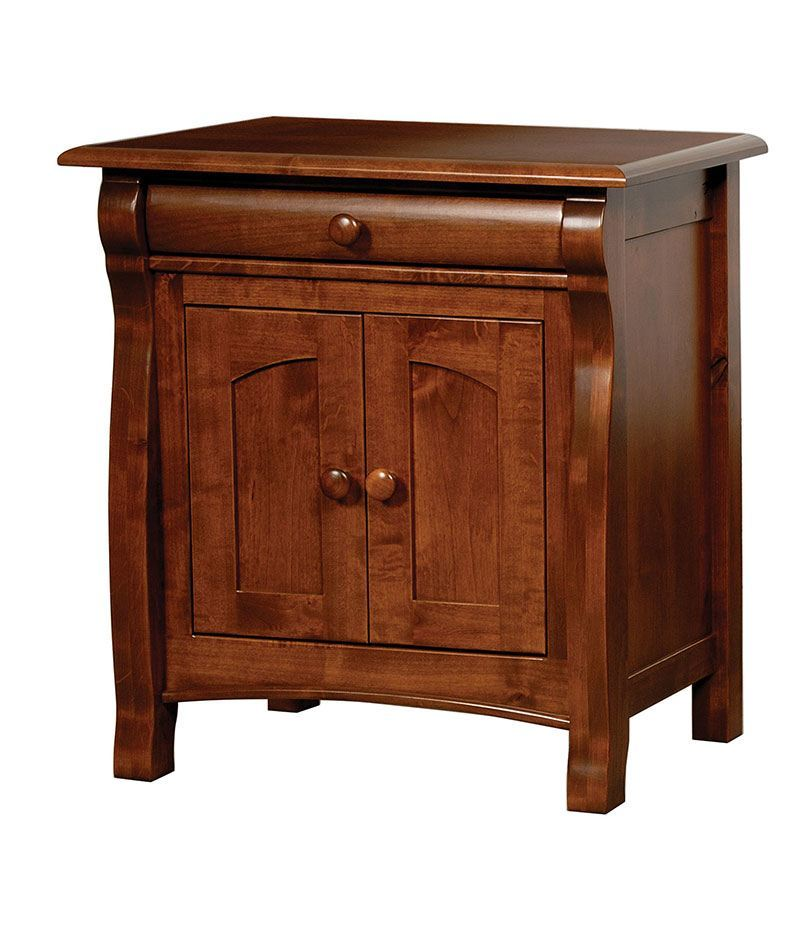 Castlebury 1 Drawer 2 Door Night Stand
