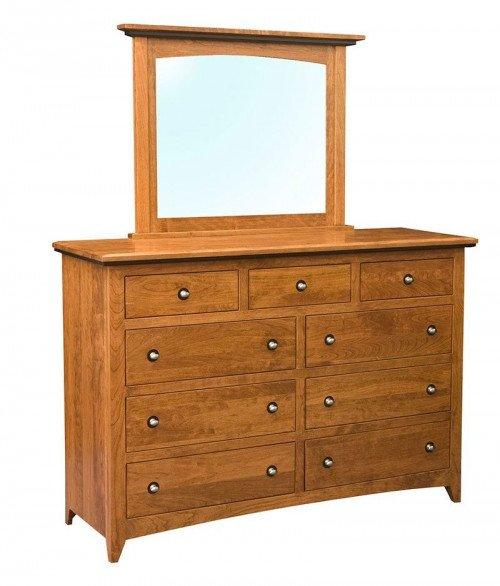 Classic Shaker 9 Drawer Dresser