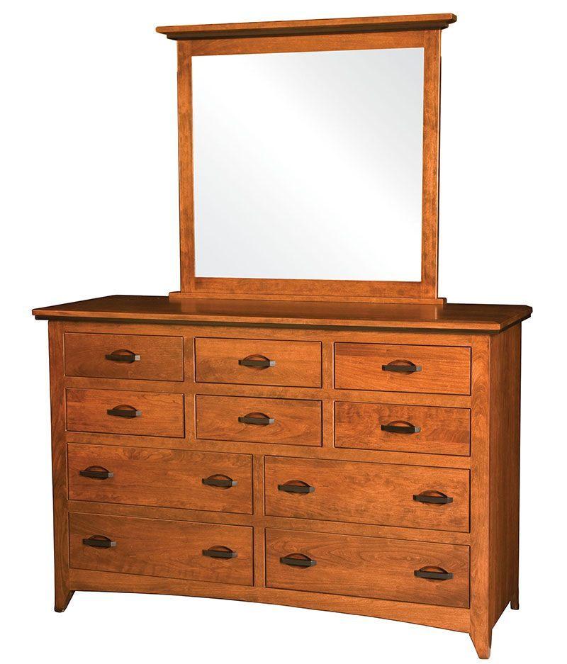 Classic Shaker 10 Drawer Dresser