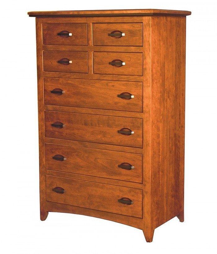 Classic Shaker 8 Drawer Dresser