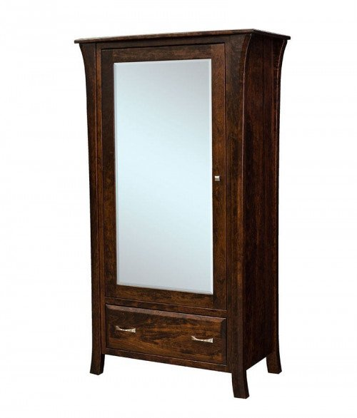 Ensenada 1 Drawer 1 Mirror Door Armoire