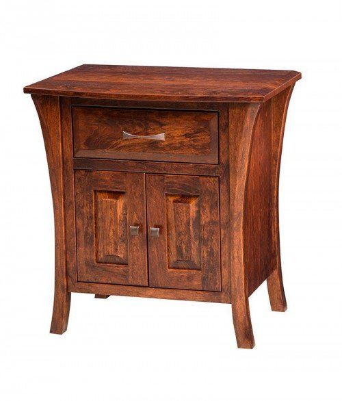 Ensenada 1 Drawer 2 Door Night Stand