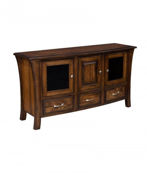 Ensenada Plasma TV Stand 3 Drawer 3 Door