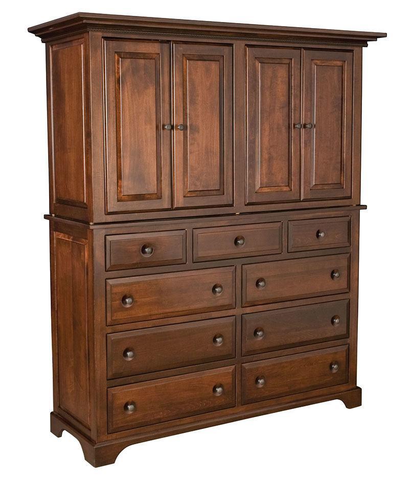 Escalade 9 Drawer 4 Door Mule Armoire