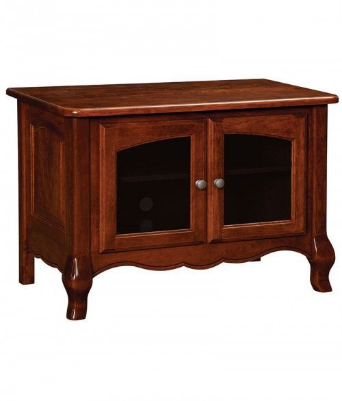 French Country Plasma TV Stand 2 Door