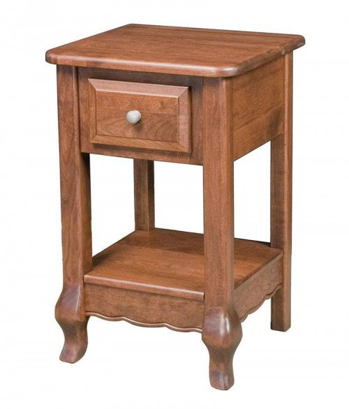 French Country 1 Drawer Night Stand
