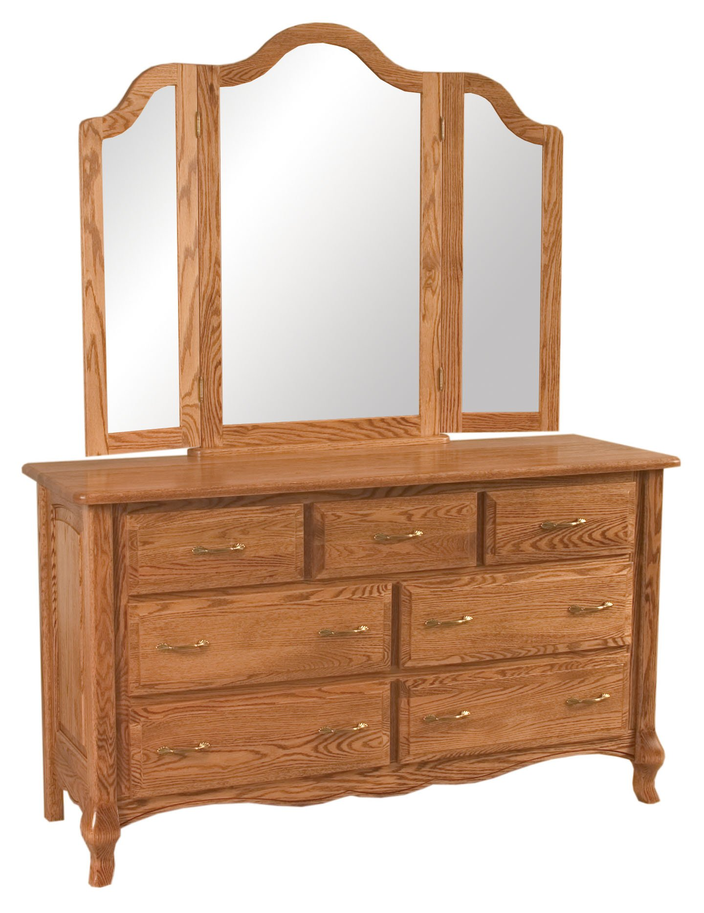 French Country 7 Drawer Dresser