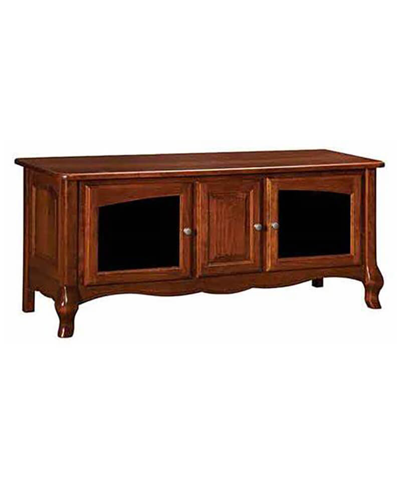 French Country Plasma TV Stand 3 Door
