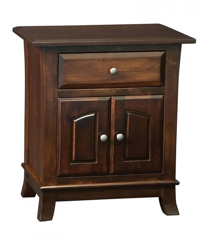 Hampton 1 Drawer 2 Door Night Stand
