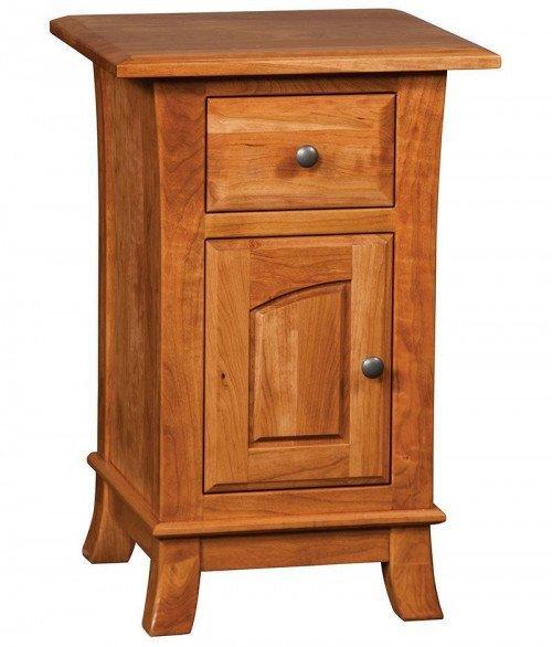 Hampton 1 Drawer 1 Door Night Stand