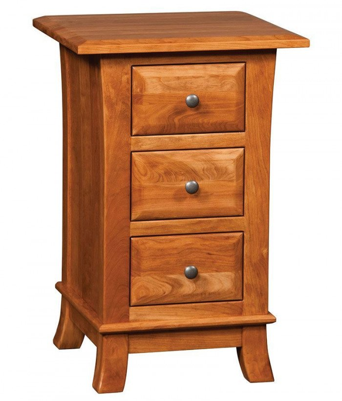 Hampton 3 Drawer Night Stand
