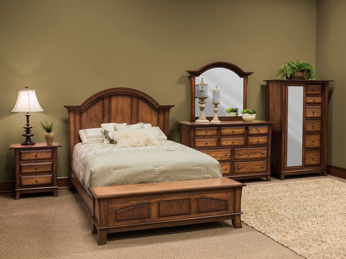 Chest Hampton Queen Bed