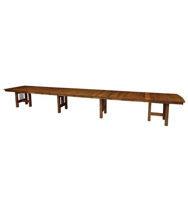 Hartford Trestle Table with Leaves