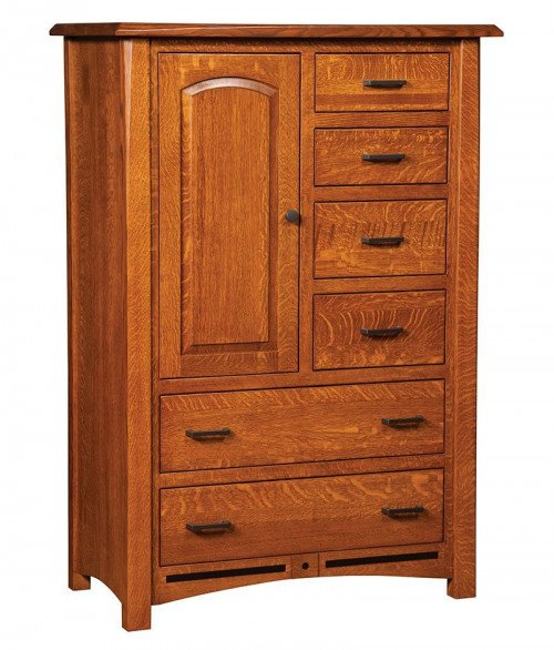Lavega 6 Drawer 1 Door Chest
