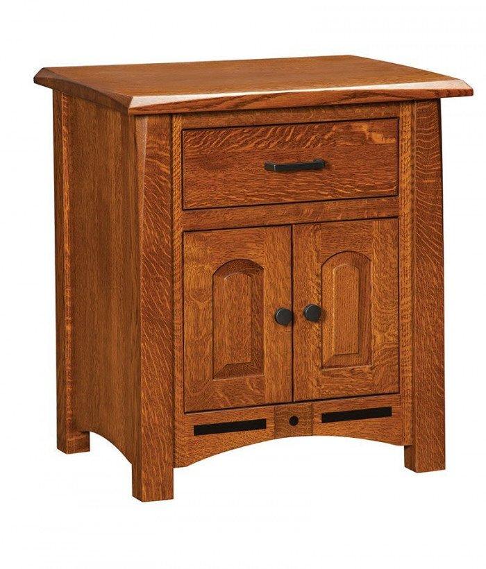 Lavega 1 Drawer 2 Door Night Stand