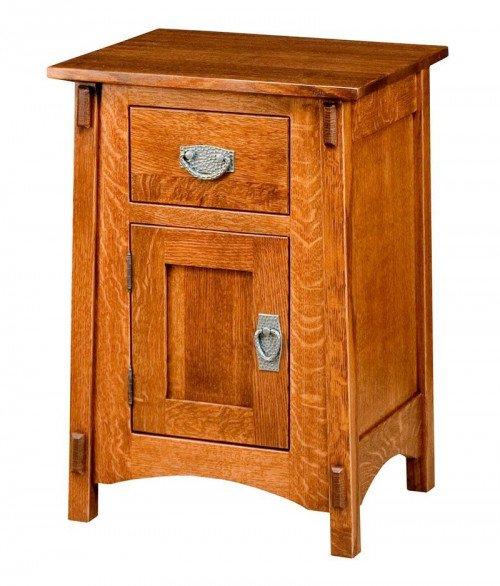 McCoy 1 Drawer 1 Door Night Stand