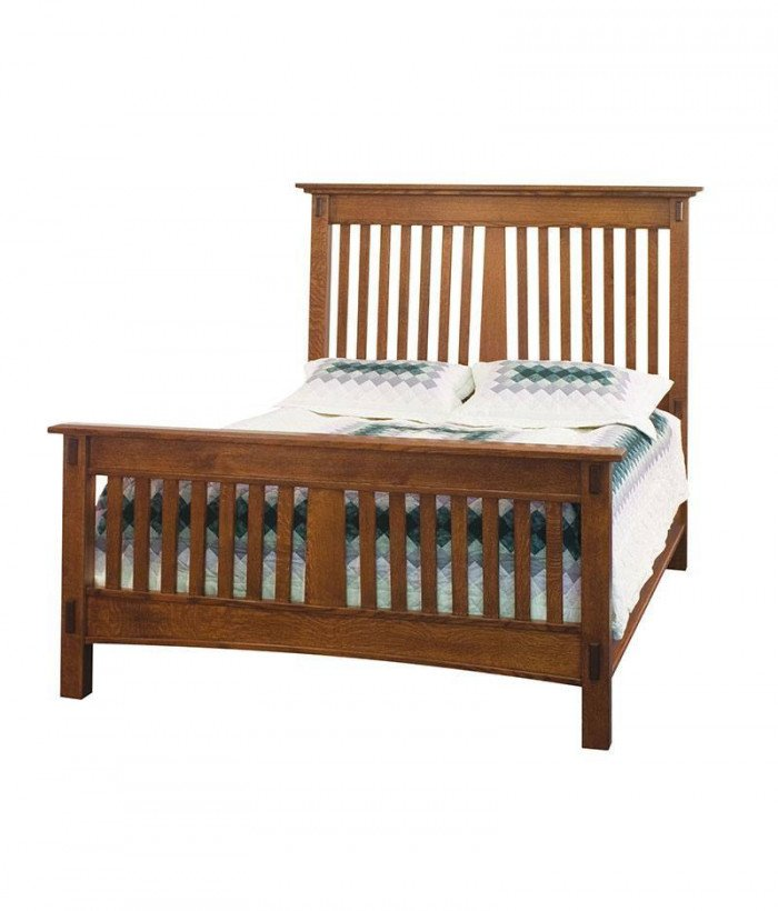McCoy Slatted Bed